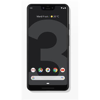 """Smartphone 6.3"""" Google Pixel 3 XL - WQHD+, SnapDragon 845, 4 Go de RAM, 64 Go, noir"""
