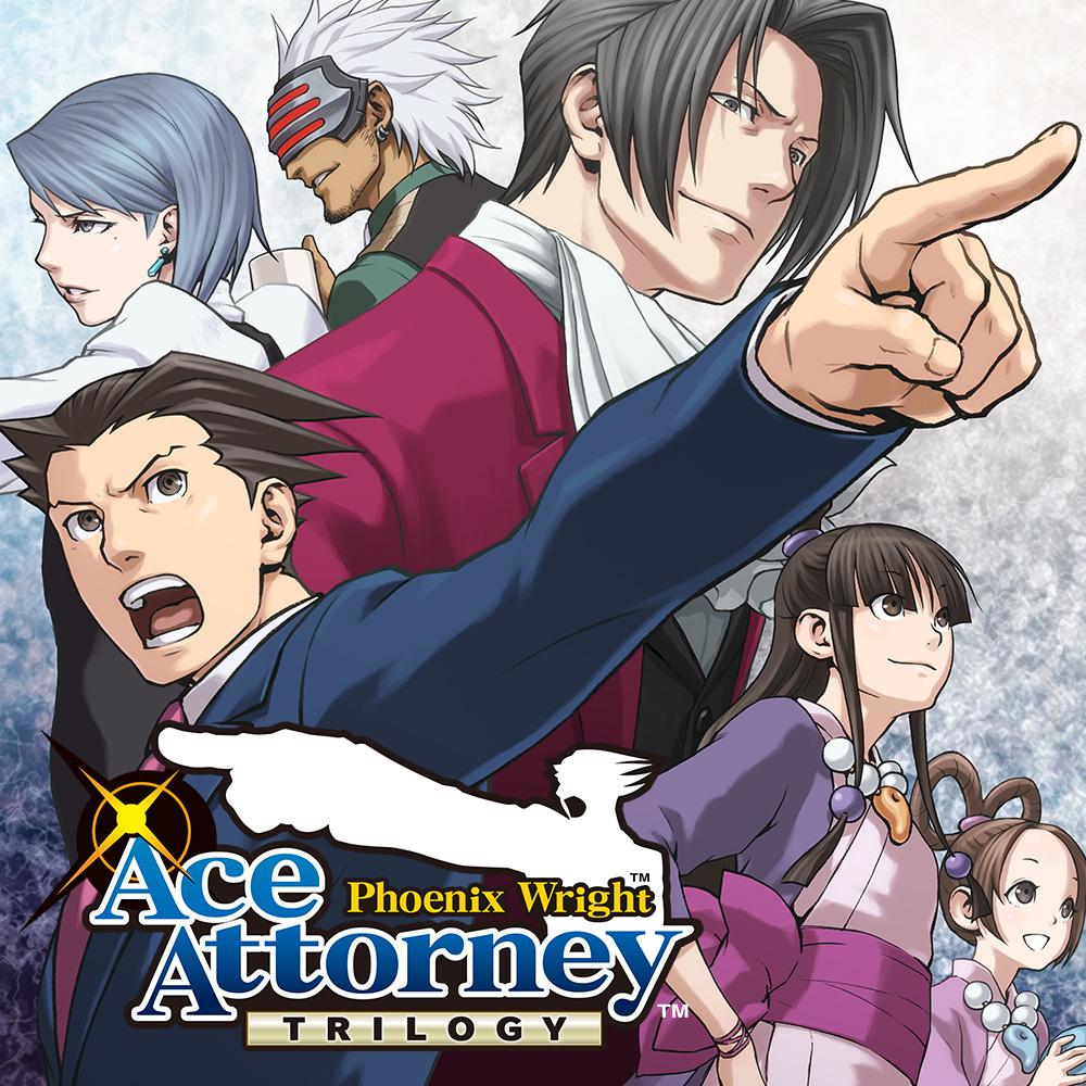 Phoenix Wright : Ace Attorney Trilogy sur Nintendo Switch (Dématérialisé)