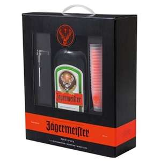 Kit Liqueur Jagermeister Magnum - 18 shooters (175 cl)