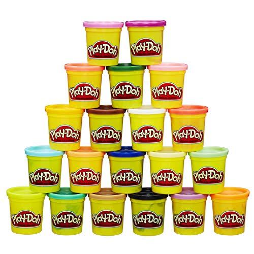 20 pots de pâte à modeler Play-Doh  - Super couleurs, 84 g