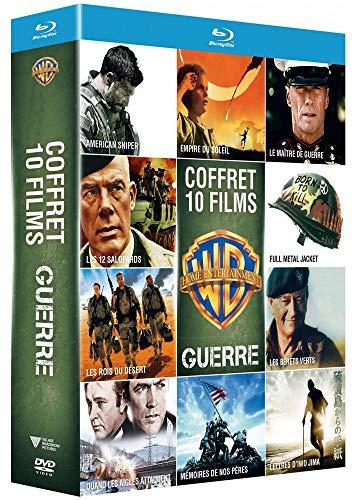 Coffret Blu-Ray - Collection de 10 films de guerre Warner (Vendeur Tiers)