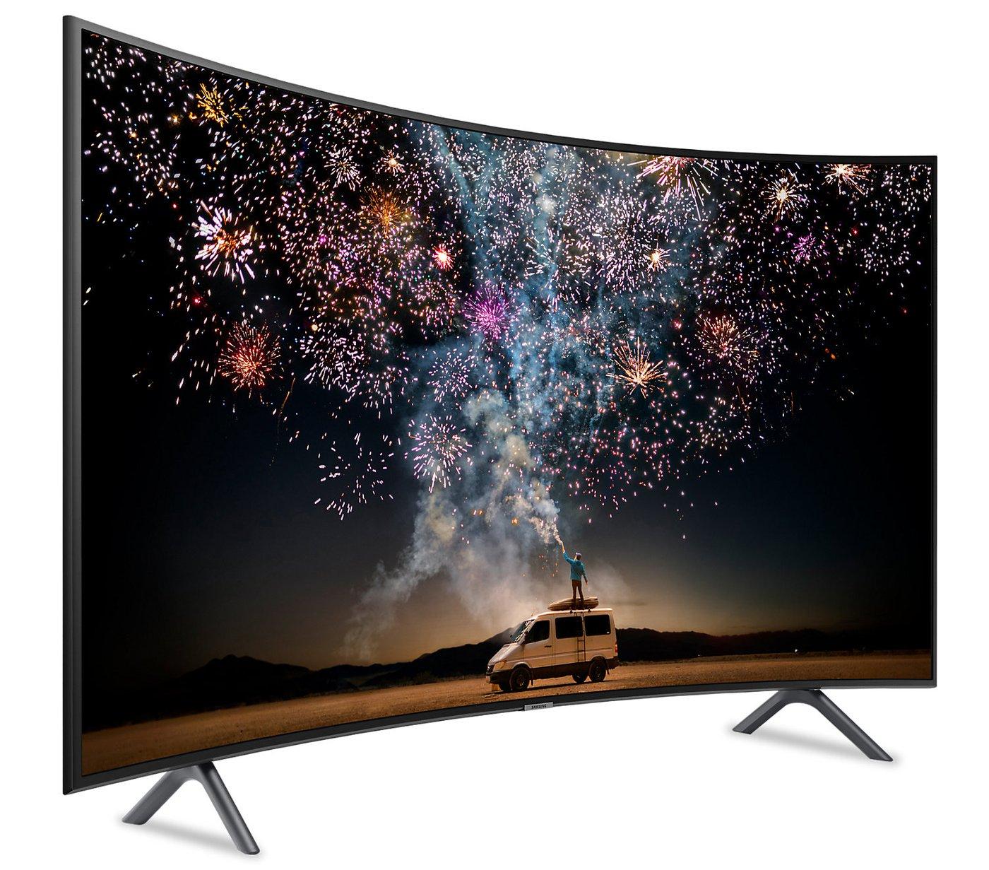 "TV 49"" Samsung UE49RU7305 - LED, 4K UHD, HDR 10+, Incurvé, 1500 PQI, PurColor, Smart TV (Via ODR de 100€)"