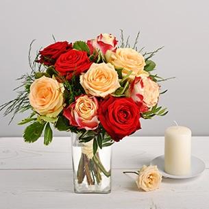 Bouquet de Fleurs Abricotine