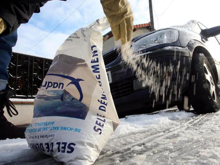 Distribution gratuite de sel de déneigement - Champigneulles (54)