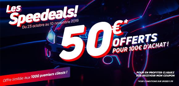 Coupon de 50€ de réduction à valoir sur les réparations auto dès 100€ d'achat (hors pneumatique, ventes à emporter et vitrage)