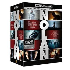 Coffret Blu-ray 4k Christopher Nolan 7 films