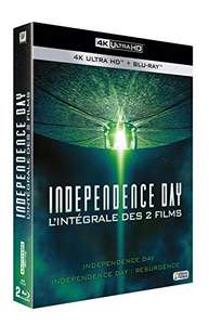 Coffret Blu-ray 4K Independence Day + Independence Day : Resurgence