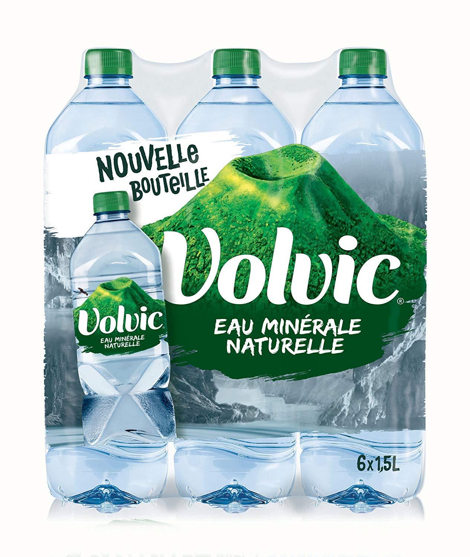 Lot de 3 packs de Volvic - 18 x 1.5L