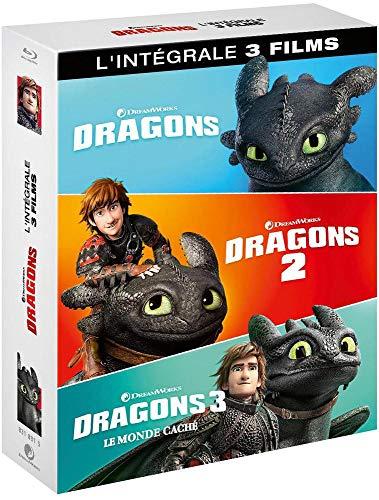 Sélection de coffrets Blu-Ray en promotion - Ex: Intégrale Dragons