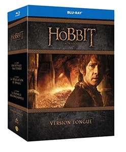 Coffret Blu-Ray Le Hobbit La Trilogie - Version Longue