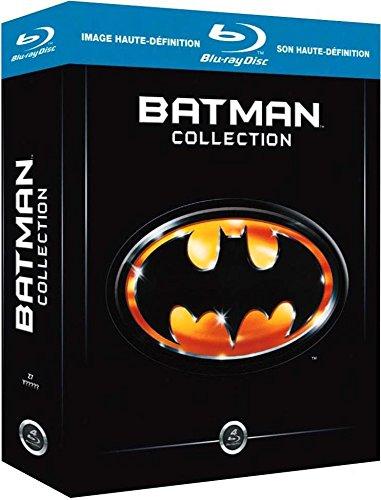 Coffret Blu-ray : Batman : L'anthologie des Films 1989-1997