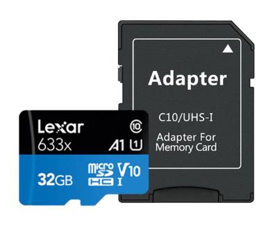 Cartes microSDXC Lexar A1 - 32Go, Class10 UHS-I U3