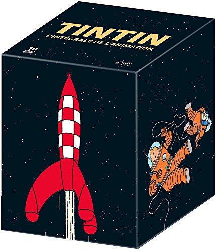 Coffret DVD : Tintin : l'intégrale de la série et des longs métrages d'animation