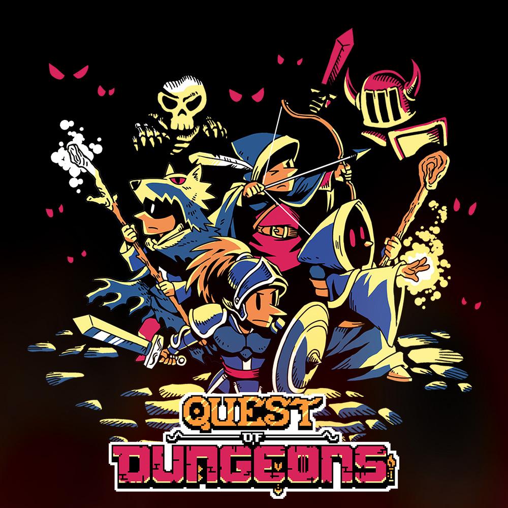 Jeu Quest of dungeons sur Nintendo Switch (Dématérialisé)