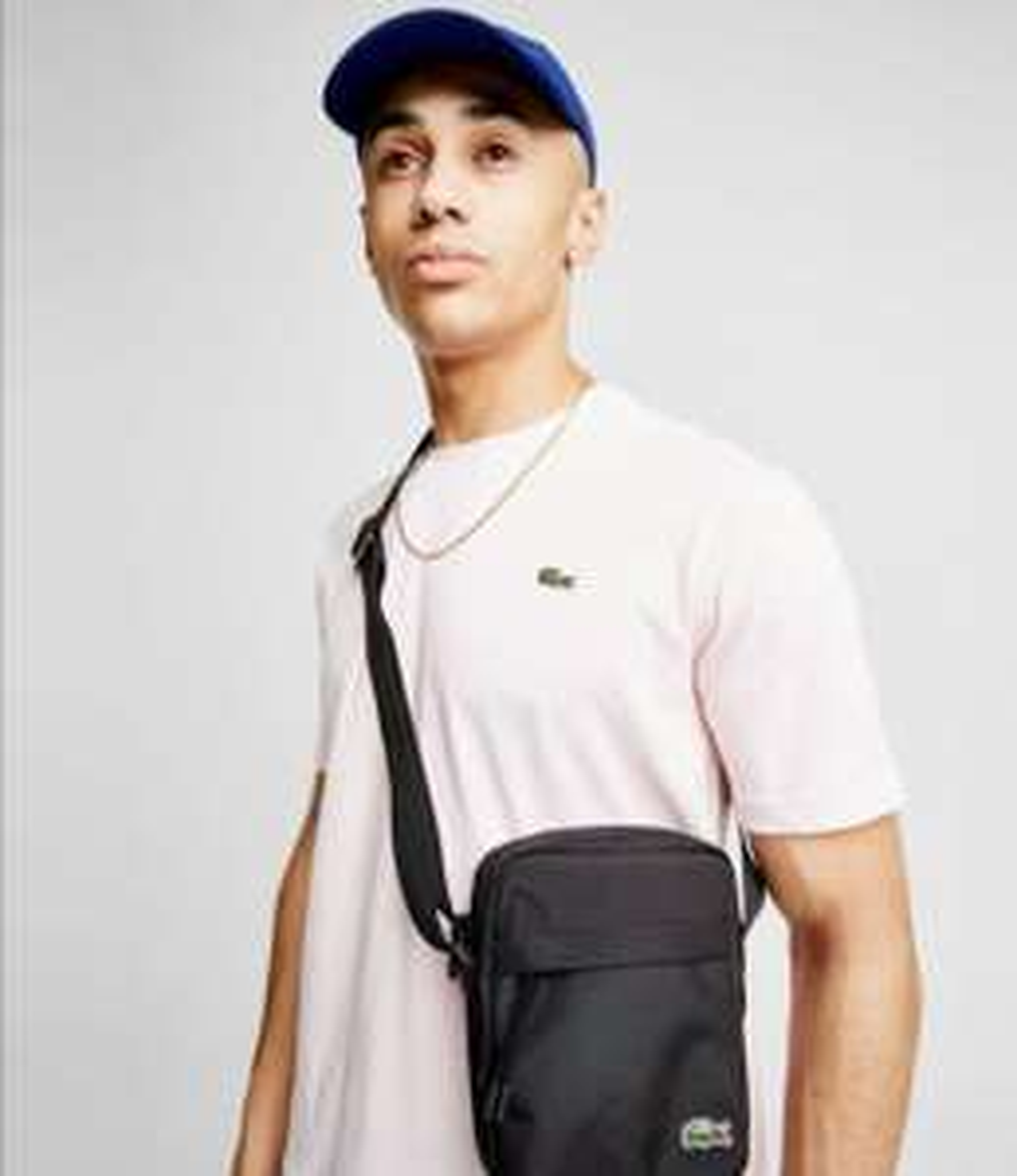 T-shirt Lacoste Croc - Rose, L ou XL