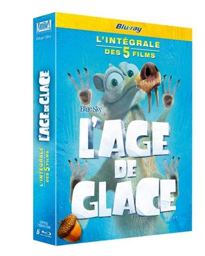Coffret Blu-Ray l'âge de glace l'intégrale (5 Films)