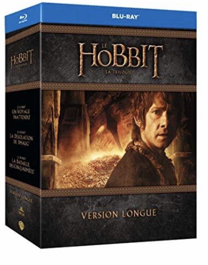 Coffret Blu-Ray Trilogie Le Hobbit - Version longue