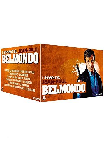 Coffret DVD : Jean-Paul Belmondo L'essentiel 15 DVD
