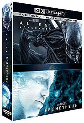 Coffret Blu-ray 4K Alien : Covenant + Prometheus