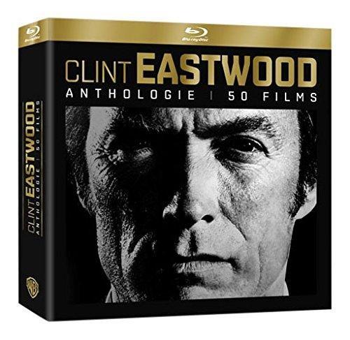 Coffret Blu-ray Clint Eastwood Anthologie - 40 Films