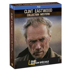 Coffret 3 Blu-ray Clint Eastwood Western - Édition spéciale Fnac (Impitoyable + Josey Wales + Pale Rider)