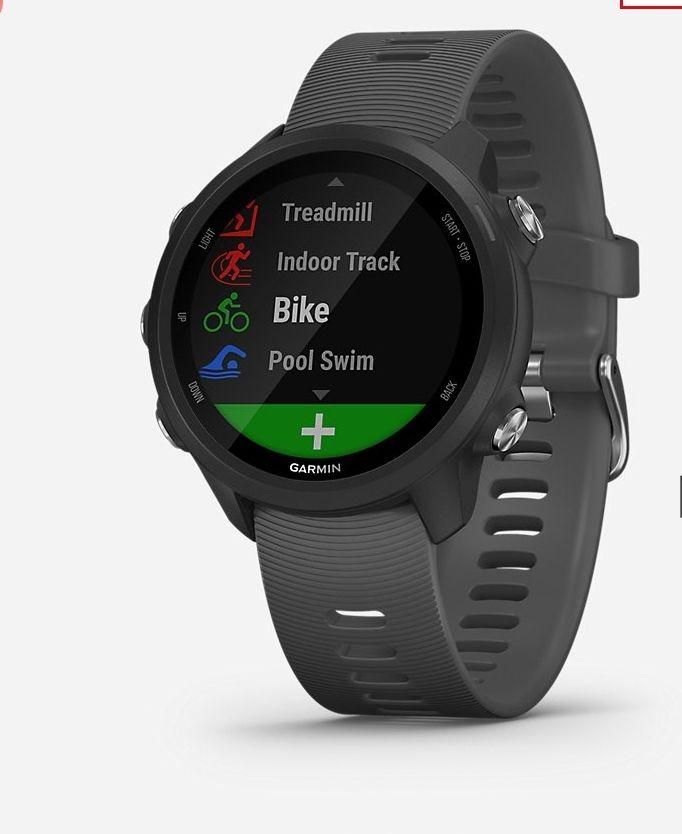 Montre GPS Forerunner 245 - Noir