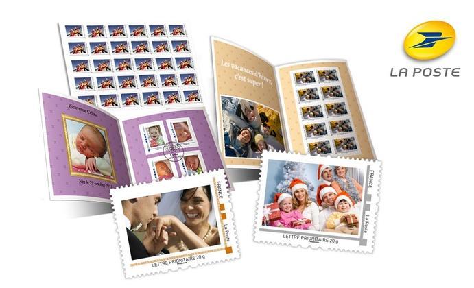 40% de réduction sur la personnalisation de timbres