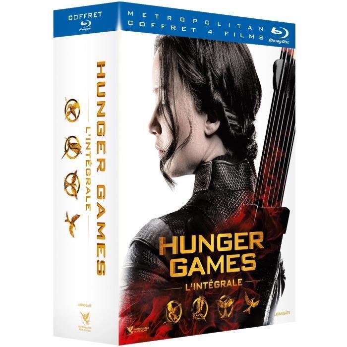 Coffret Blu-Ray Hunger Games - L'intégrale (4 Films)