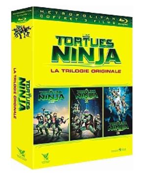 Coffret Blu-Ray Tortues Ninja Trilogie