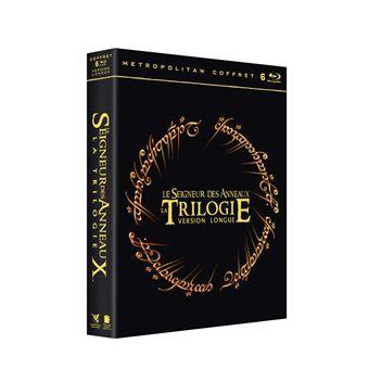 Coffret Blu-ray Le Seigneur des Anneaux - La Trilogie (version Longue)
