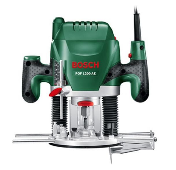 Défonceuse Filaire Bosch POF 1200 AE + accessoires - 1200 W