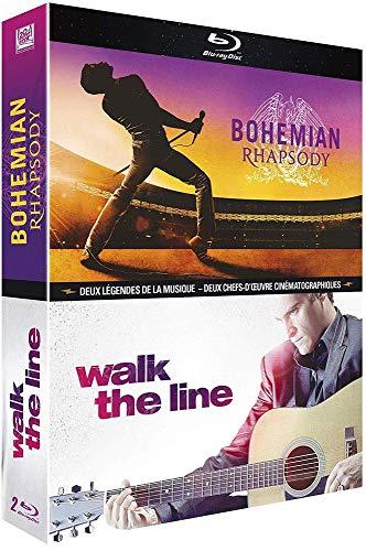 Sélection de coffrets Blu-ray en promotion - Ex : Bohemian Rhapsody + Walk The Line