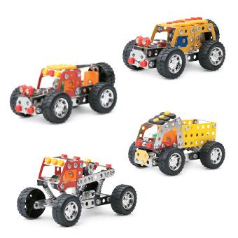 Set construction de voiture - 130 pièces