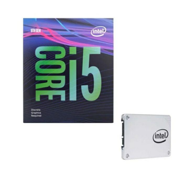 """Processeur Interl Core i5-9400F - 2,9/4,1 GHz + SSD interne 2.5"""" 545S Series - 128 Go"""
