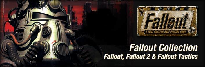 Pack de jeux Fallout Classic Collection : A Post Nuclear Role Playing Game + Fallout Tactics + Brotherhood of Steel sur PC (Dématérialisé)