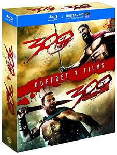 Coffret Blu-Ray 300 + 300 : La Naissance d'un Empire
