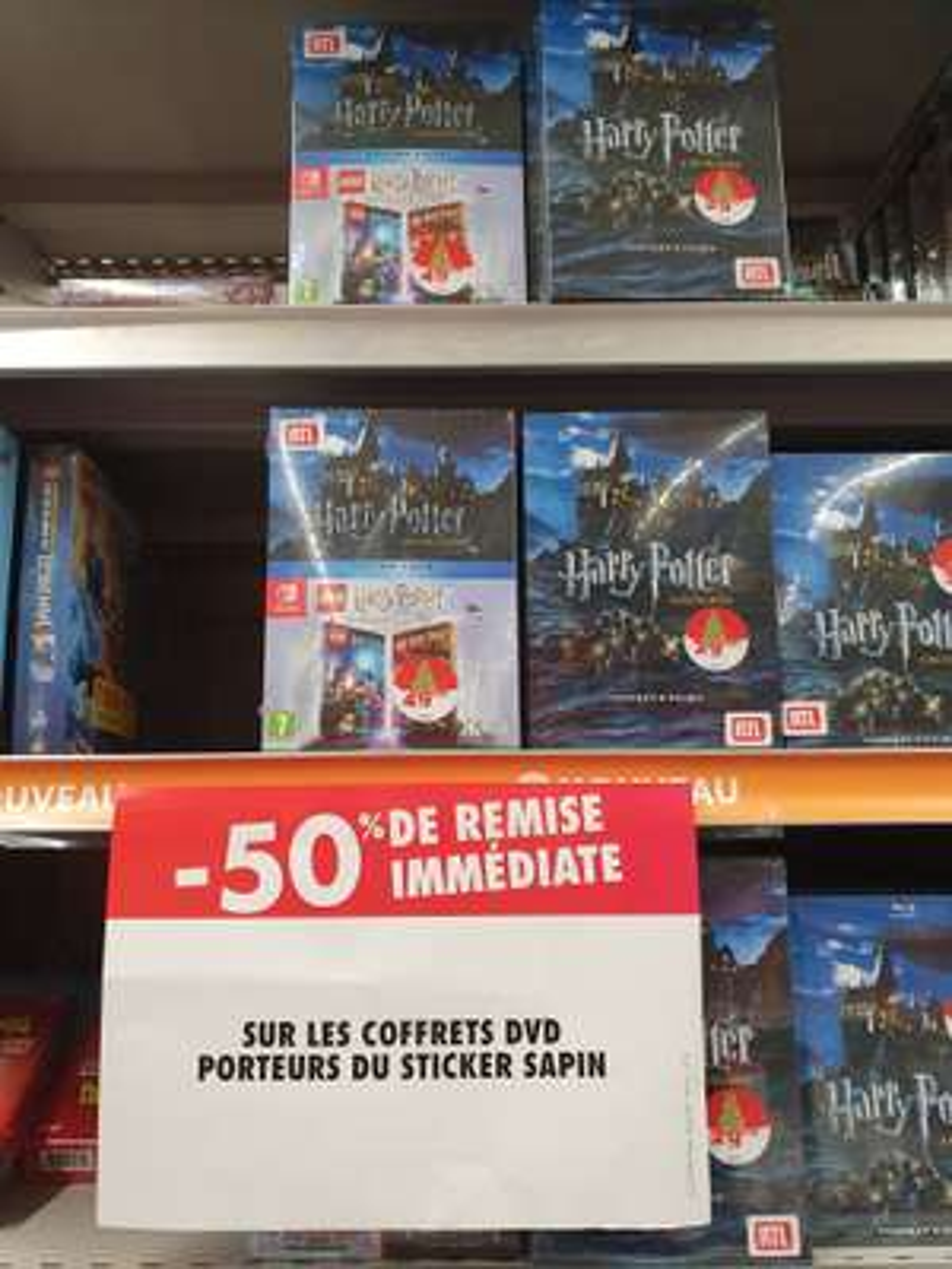 Coffret DVD Intégrale Harry Potter + 2 Jeux LEGO Harry Potter sur Nintendo Switch - Pontault-Combault (77)