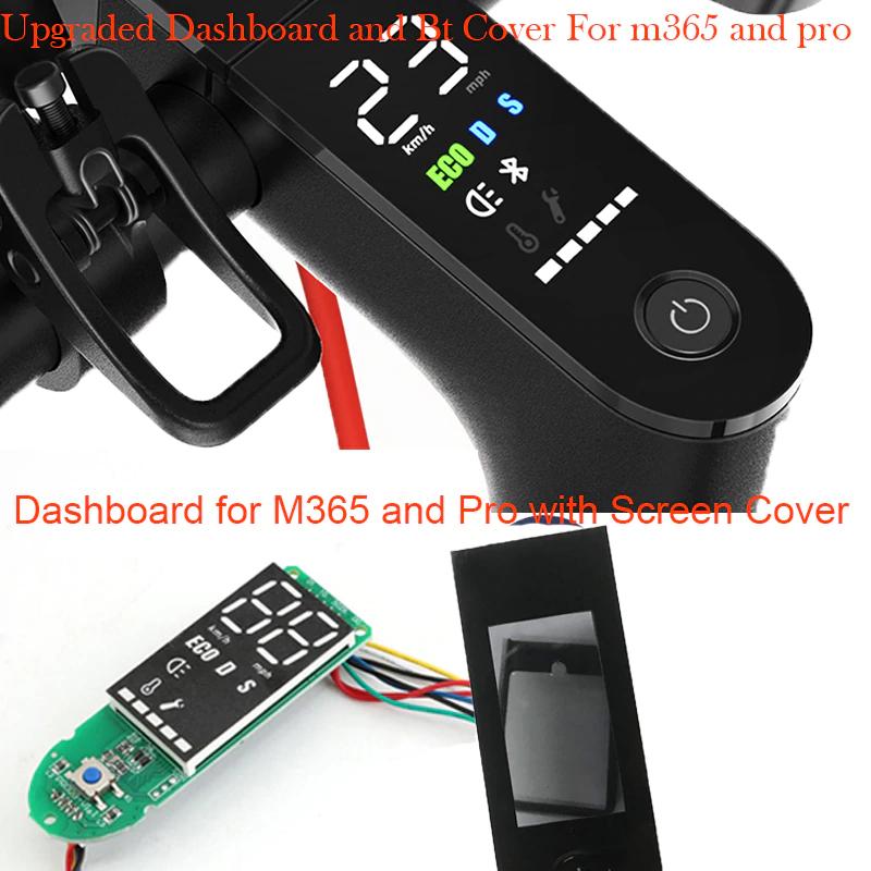 Kit Evolution pour Trottinettes Electriques Xiaomi M365 & M365 Pro - Tableau de Bord avec Ecran LCD