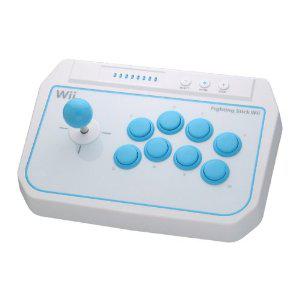 Manette Arcade Fighting Stick Hori pour Wii