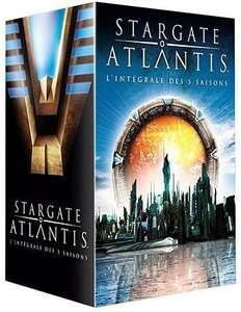 Coffret DVD Stargate Atlantis - Intégrale des saisons 1 à 5