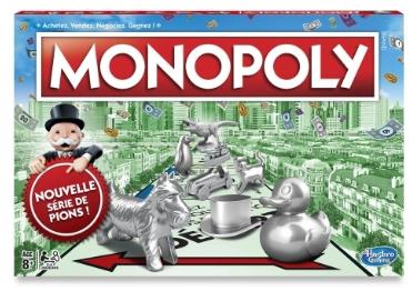Sélection de jeux Hasbro en promotion - Ex : Monopoly classique