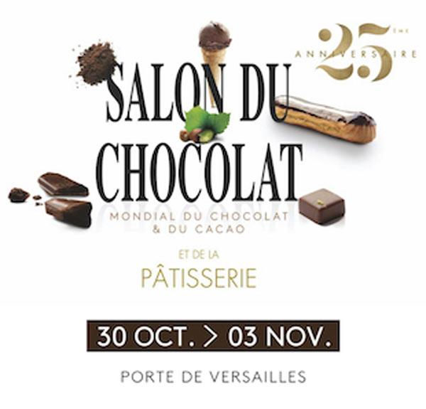 [Adhérents] 1 Billet pour le Salon du chocolat Paris 2019