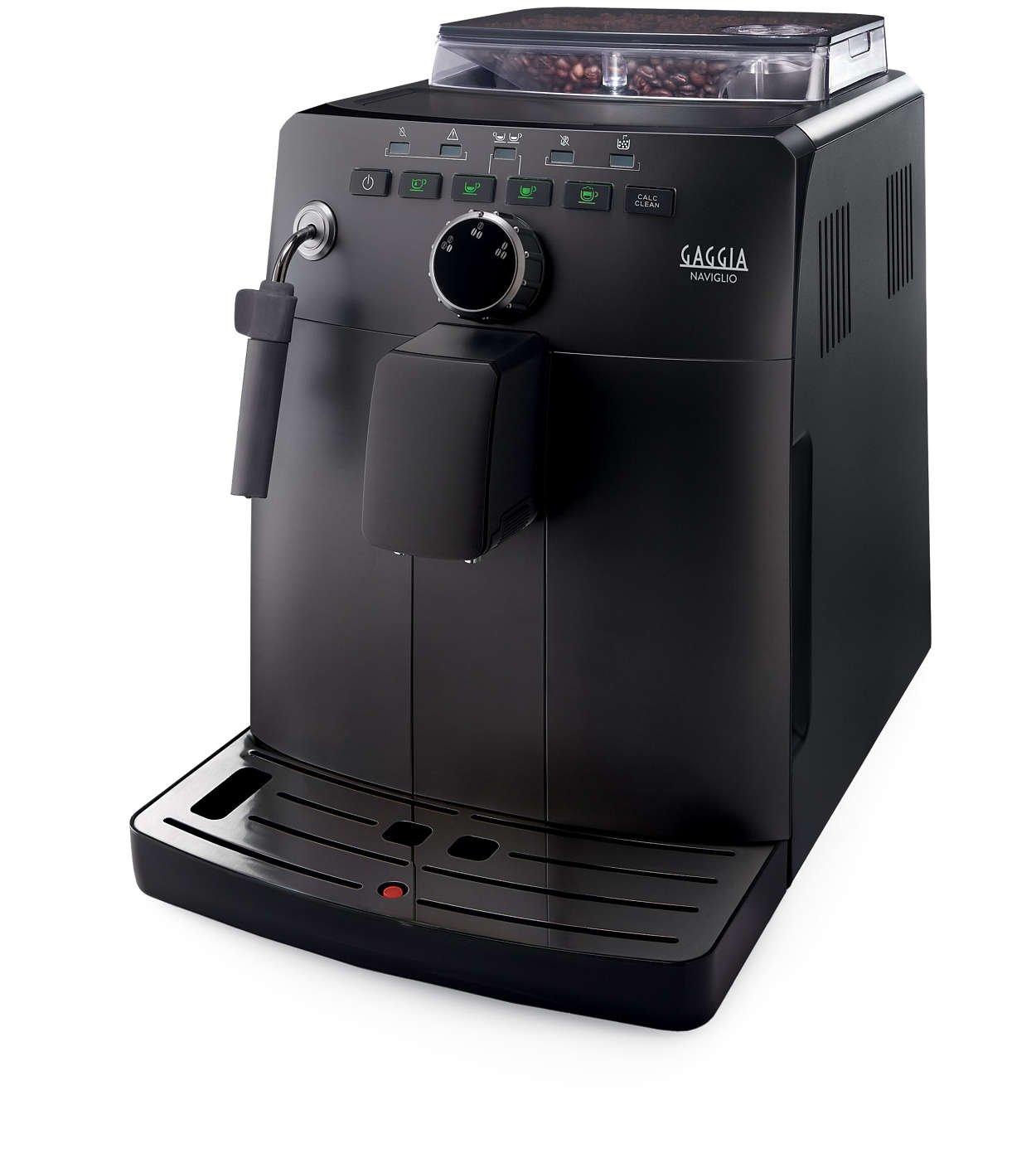 Machine à Café Automatique Gaggia HD8749/01 Naviglio Black