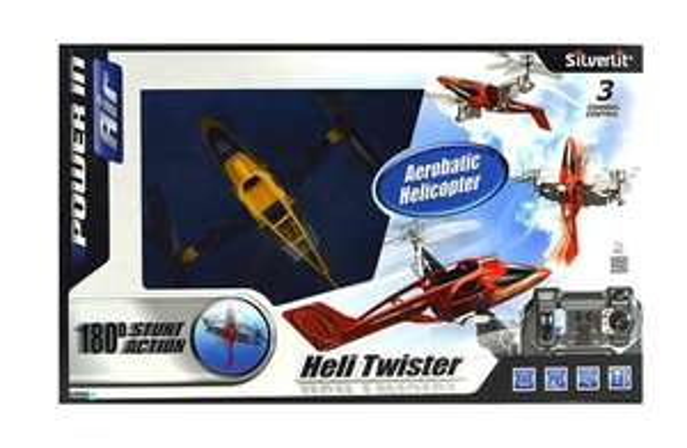 Radio Commande Véhicule Miniature  Héli Twister 3C  Silverlit - 84593