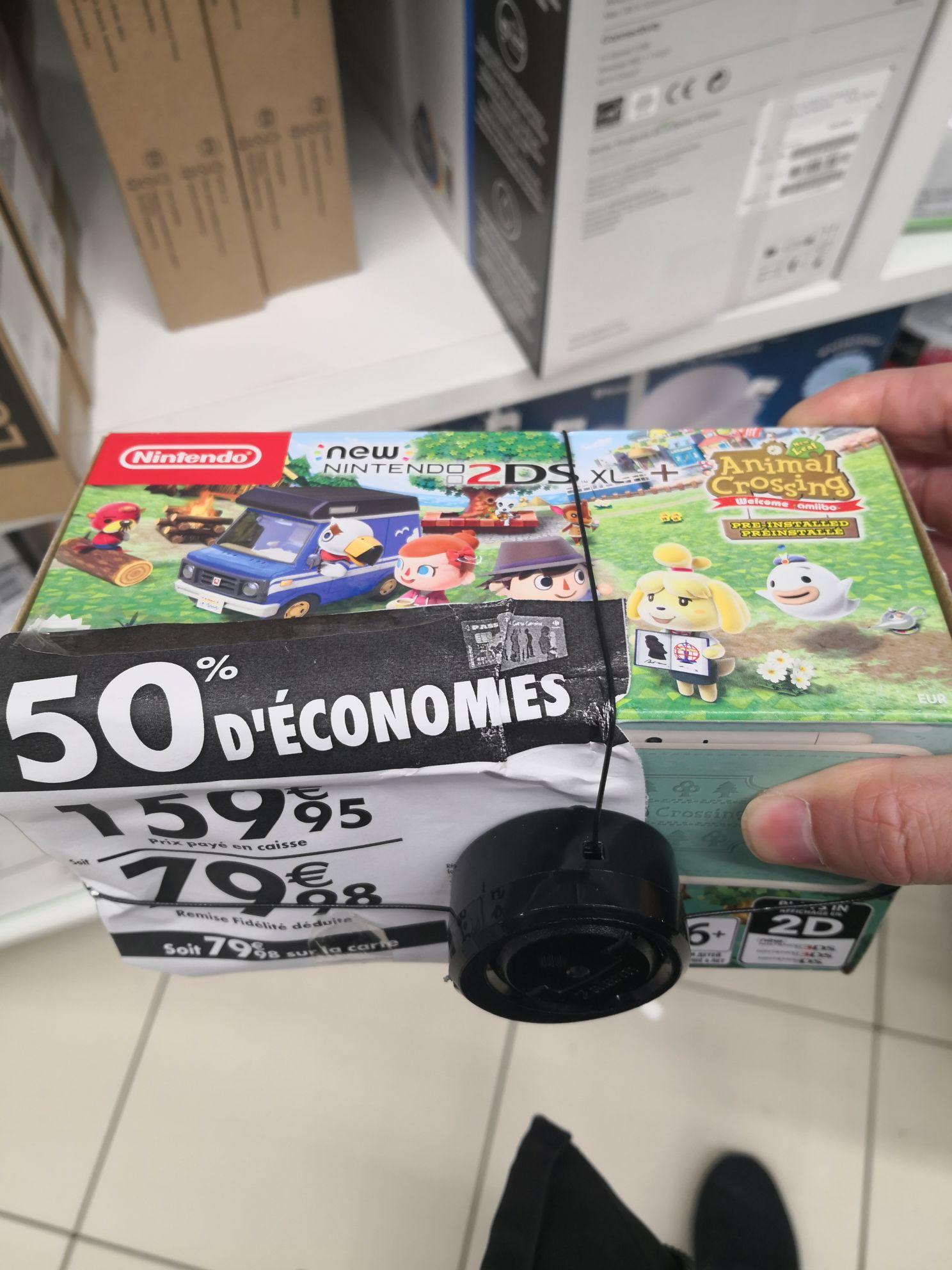 Console Nintendo New 2DS XL + Animal crossing (via 79,98€ sur la carte) - Aubervilliers (93)