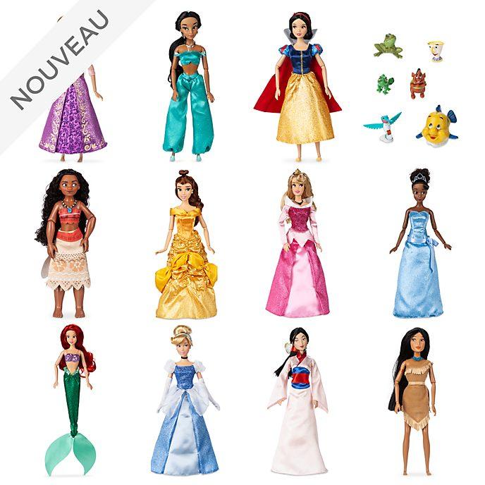 Lot de 11 Poupées Disney Princesses