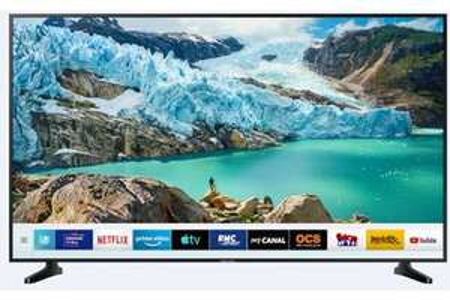 "TV LED 55"" Samsung UE55NU7092KXXC - 4K, HDR 10+, Smart TV (+40€ en carte cadeau Darty)"