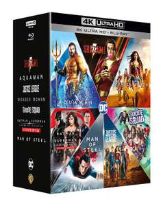 Coffret Blu-ray 4K DC Extended Universe - Collection 7 films