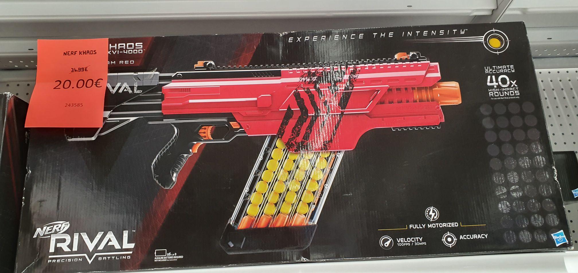 Pistolet Nerf Khaos - Livry-Gargan (93)