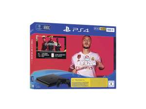 Console PS4 500 Go (Noir) + FIFA 20 (Frontaliers Allemagne)